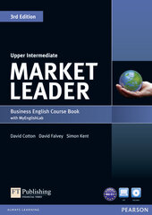 Market Leader 3rd Edition Upper-Intermediate Student Book + DVD + Lab (підручник) - фото обкладинки книги