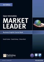 Market Leader 3rd Edition Upper-Intermediate Student Book + DVD (підручник) - фото обкладинки книги