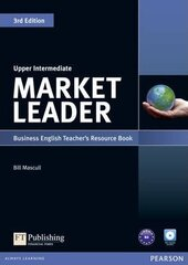 Market Leader 3rd Edition Upper-Intermediate Teacher's Resource Book + Test Master CD (книга вчителя) - фото обкладинки книги