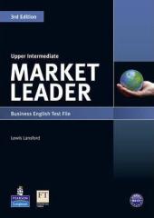 Market Leader 3rd Edition Upper-Intermediate Test File - фото обкладинки книги