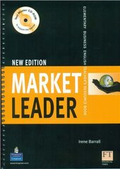 Market Leader Elementary Teacher's Resource Book - фото обкладинки книги
