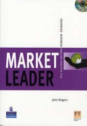 Market Leader New Edition Advanced Practice File+CD - фото обкладинки книги