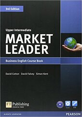 Market Leader Upper Intermediate Coursebook - фото обкладинки книги