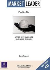 Market Leader Upper Intermediate Practice File Bk & CD Pk - фото обкладинки книги