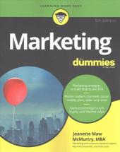 Marketing For Dummies - фото обкладинки книги