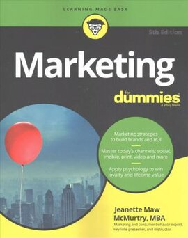 Marketing For Dummies - фото книги