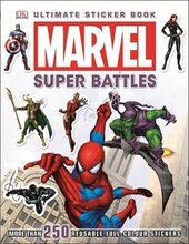 Книга Marvel Super Battles Ultimate Sticker Book