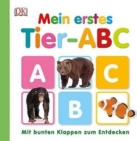 Mein erstes. Tier-ABC. Mit bunten Klappen zum Entdecken - фото книги