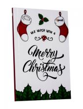 "Merry Christmas"" sock B6 - фото обкладинки книги"