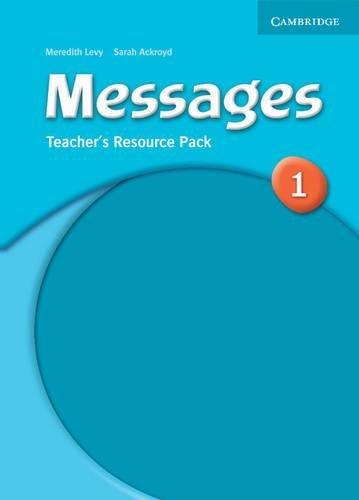 Книга для вчителя Messages 1 Teacher's Resource Pack