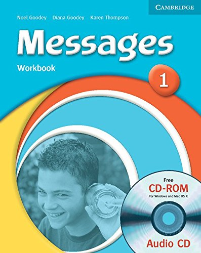 Робочий зошит Messages 1 Workbook with Audio CD/CD-ROM