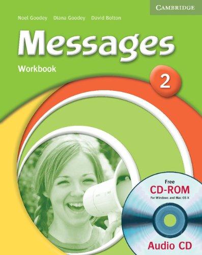 Робочий зошит Messages 2 Workbook with Audio CD/CD-ROM