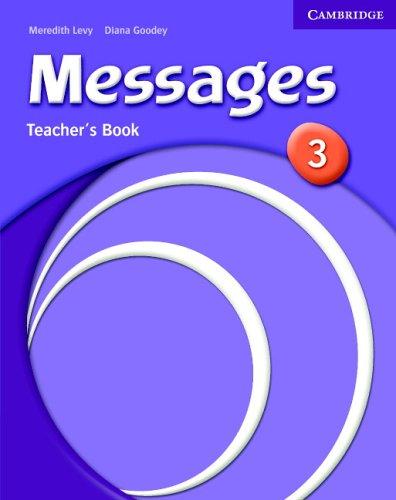Книга для вчителя Messages 3 Teacher's Book