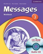 Messages 3 Workbook with Audio CD/CD-ROM - фото обкладинки книги