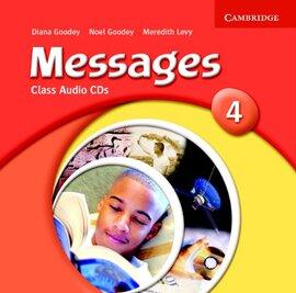 Messages 4 Class Audio Cds - фото книги