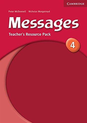 Книга для вчителя Messages 4 Teacher's Resource Pack