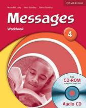 Messages 4 Workbook + Audio CD - фото обкладинки книги