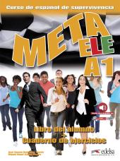 Meta ELE : Libro del alumno + cuaderno de ejercicios + audio download A1 - фото обкладинки книги