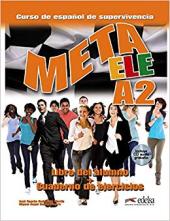 Meta ELE : Libro del alumno + cuaderno de ejercicios + audio download A2 - фото обкладинки книги