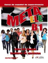 Meta ELE : Libro del alumno + cuaderno de ejercicios + audio download B1 - фото обкладинки книги