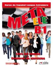 Meta ELE : Libro del alumno + cuaderno de ejercicios + CD B1.1 - фото обкладинки книги