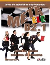 Meta Ele : Libro Del Alumno + Cuaderno De Ejercicios + CD B2.1 - фото обкладинки книги