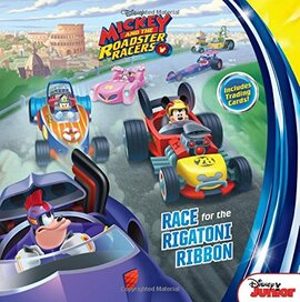 Mickey and the Roadster Racers Race for the Rigatoni Ribbon - фото книги