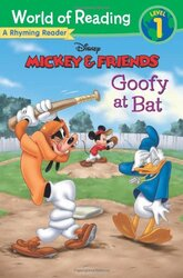 Mickey & Friends Goofy at Bat: A Rhyming Reader - фото обкладинки книги