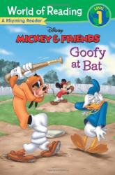 Mickey & Friends Goofy at Bat: A Rhyming Reader - фото обкладинки книги