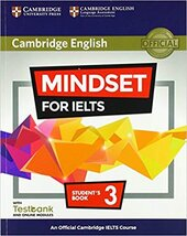 Mindset for IELTS Level 3 Student's Book with Testbank and Online Modules: An Official Cambridge IELTS Course - фото обкладинки книги