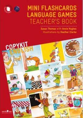 Mini Flashcards Language Games. Teacher's Book - фото книги