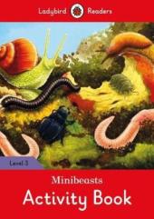 Minibeasts Activity Book - Ladybird Readers Level 3 - фото обкладинки книги