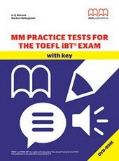 MM Practice Tests for the TOEFL IBT Exam - фото обкладинки книги