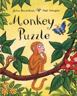 Monkey Puzzle Big Book - фото книги