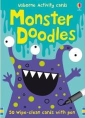 Monster Doodles - фото обкладинки книги