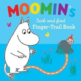 Moomin's Seek and Find Finger-Trail book - фото книги