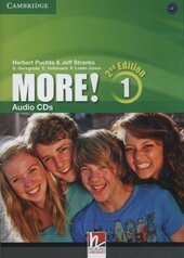 More! (2-nd edition) Level 1 Audio Cds - фото обкладинки книги