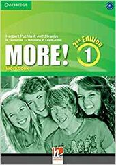More! (2nd Edition) Level 1 Workbook - фото обкладинки книги