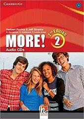 More! (2nd Edition) Level 2 Audio CDs (3) - фото обкладинки книги