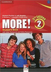 More! (2nd Edition) Level 2 Student's Book with Cyber Homework and Online Resources - фото обкладинки книги