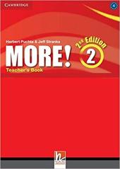More! (2nd Edition) Level 2 Teacher's Book - фото обкладинки книги