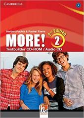 More! (2nd Edition) Level 2 Testbuilder CD-ROM/Audio CD - фото обкладинки книги