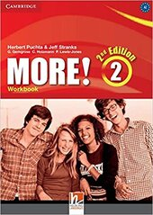 More! (2nd Edition) Level 2 Workbook - фото обкладинки книги