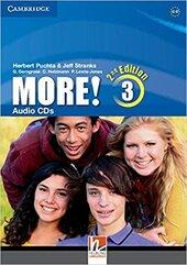 More! (2nd Edition) Level 3 Audio CDs (3) - фото обкладинки книги