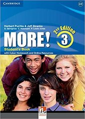 More! (2nd Edition) Level 3 Student's Book with Cyber Homework and Online Resources - фото обкладинки книги
