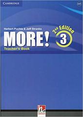 More! (2nd Edition) Level 3 Teacher's Book - фото обкладинки книги