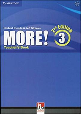 More! (2nd Edition) Level 3 Teacher's Book - фото книги