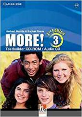 More! (2nd Edition) Level 3 Testbuilder CD-ROM/Audio CD - фото обкладинки книги