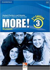 More! (2nd Edition) Level 3 Workbook - фото обкладинки книги
