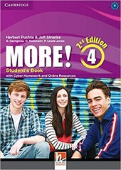 More! (2nd Edition) Level 4 Student's Book with Cyber Homework and Online Resources - фото обкладинки книги